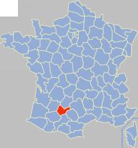 Tarn-et-Garonne-Position